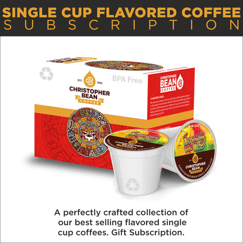 Single Cup Flavored Coffee Subscription