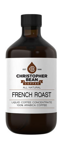 FRENCH ROAST COLD BREW OR HOT LIQUID COFFEE CONCENTRATE - Handcrafted Artesian Specialty Gourmet And Flavored Coffee