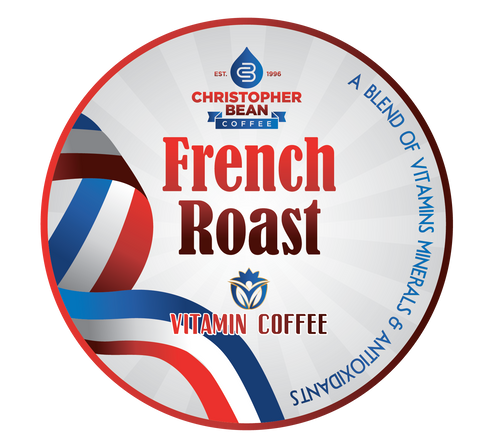 Vitamin Powered Coffee French Roast Energy & Focus Single Cup