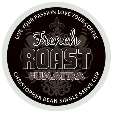 French Roast Sumatra Single Cup