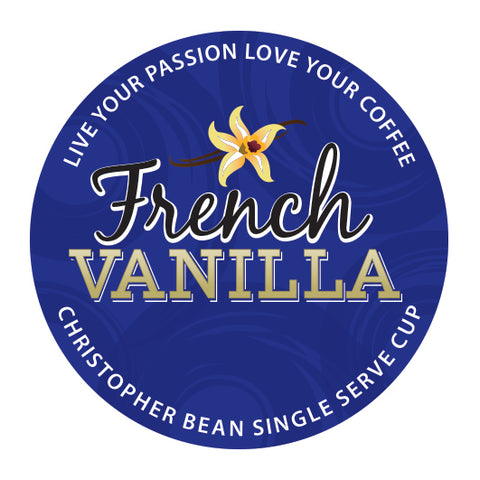 French Vanilla Single Cup (New 18 Count)