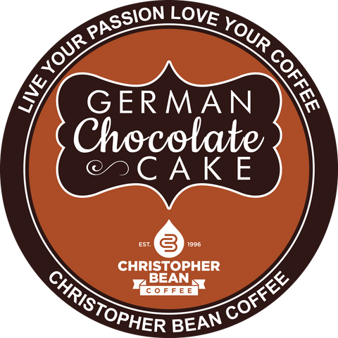 German Chocolate Cake Single Cup ( New 18 Count Box )
