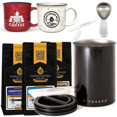 Coffee & Storage Canister Gift Set Deluxe (Free Shipping)