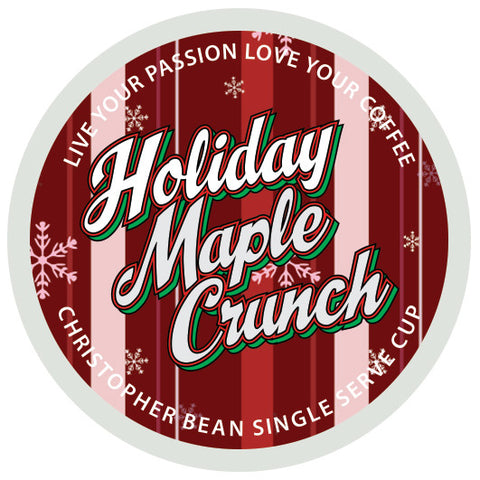 Holiday Maple Crunch Single Cup (New 18 Count)