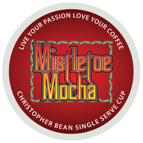 Mistletoe Mocha Single Cup