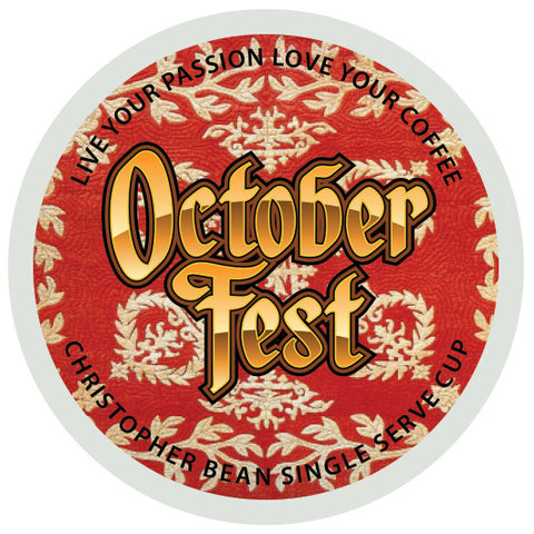 October Fest Single Cup (New 18 Count)