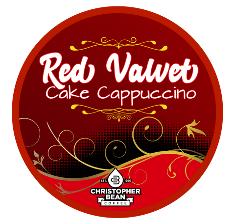 Red Velvet Cake Cappuccino Single Cup