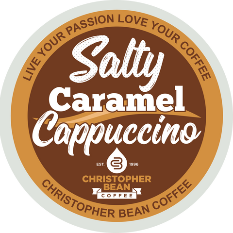 Salty Caramel Cappuccino Single Cup (18 Cups)
