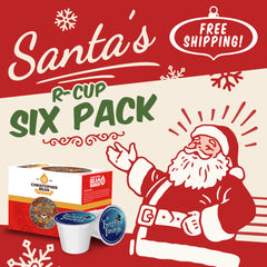 Single Cup Santa's Six Pack (Free Shipping)