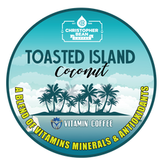 Toasted Island Coconut Powered Coffee Energy & Focus Single Cup