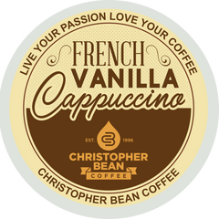 French Vanilla Cappuccino Single Cup (18 Cups)