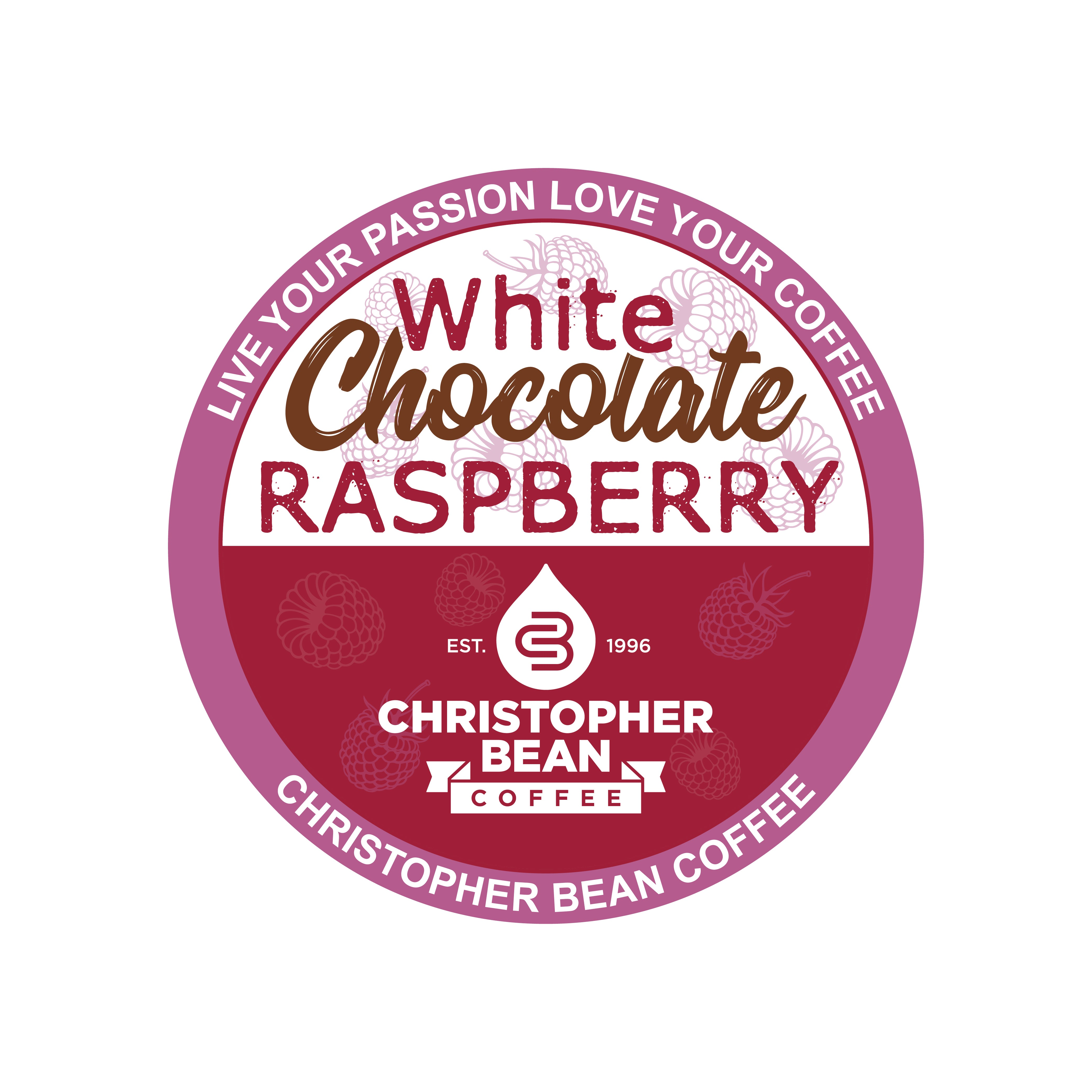 White Chocolate Raspberry Single Cup