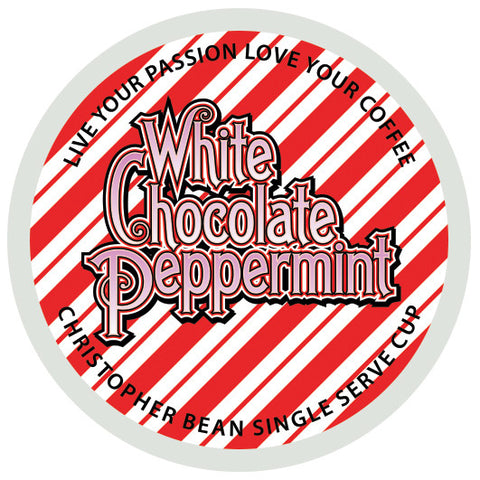 White Chocolate Peppermint Single Cup