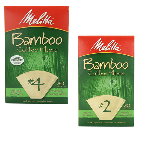 Melitta Bamboo All Natural Filters - Handcrafted Artesian Specialty Gourmet And Flavored Coffee
