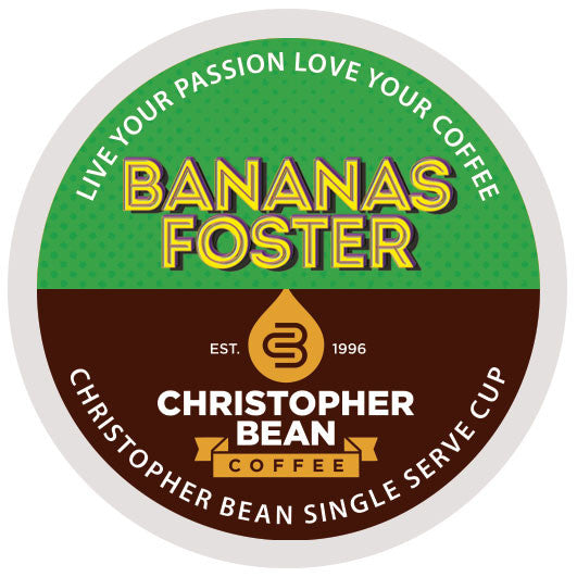 Bananas Foster Single Cup - Handcrafted Artesian Specialty Gourmet And Flavored Coffee