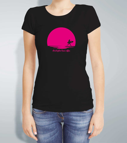 Ladies Sunrise Surfer T Shirt
