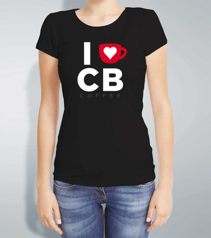 Ladies I Love CB Coffee T Shirt