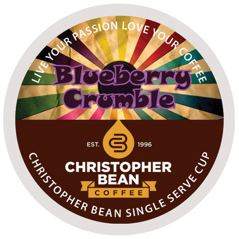 Bluberry Crumble Single Cup - Handcrafted Artesian Specialty Gourmet And Flavored Coffee