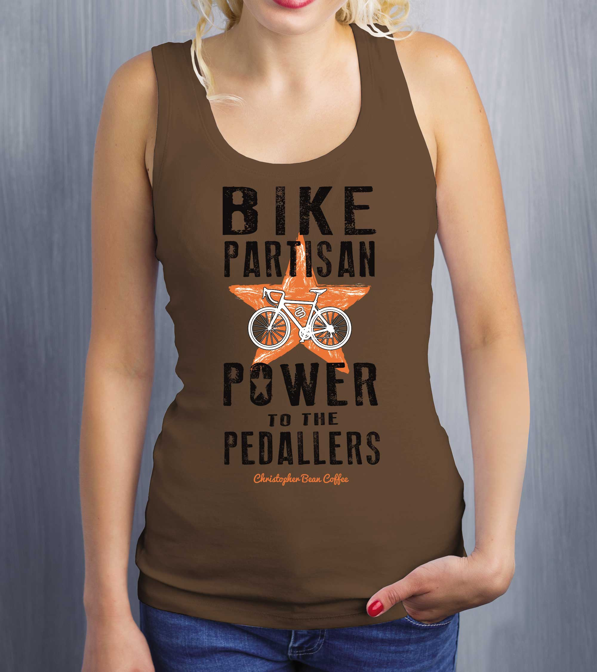 Ladies Power To The Pedallers Tank Top