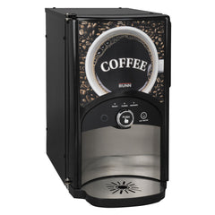 Bunn LCA-1 LP Low Profile Ambient Single Product Liquid Coffee Dispenser with Scholle Connector