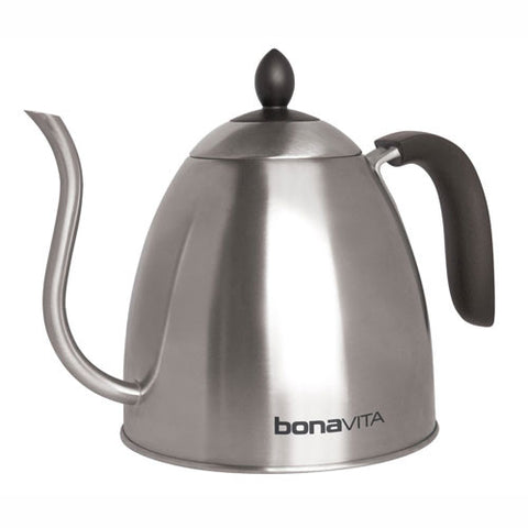 Bonavita  Stovetop Gooseneck Kettle - Handcrafted Artesian Specialty Gourmet And Flavored Coffee