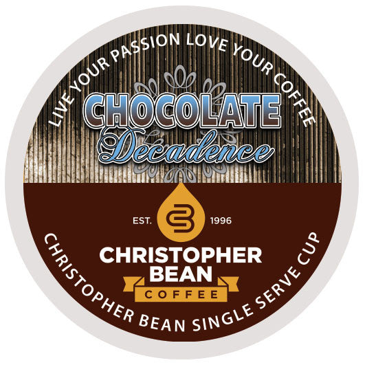 Chocolate Decadence Single Cup - Handcrafted Artesian Specialty Gourmet And Flavored Coffee