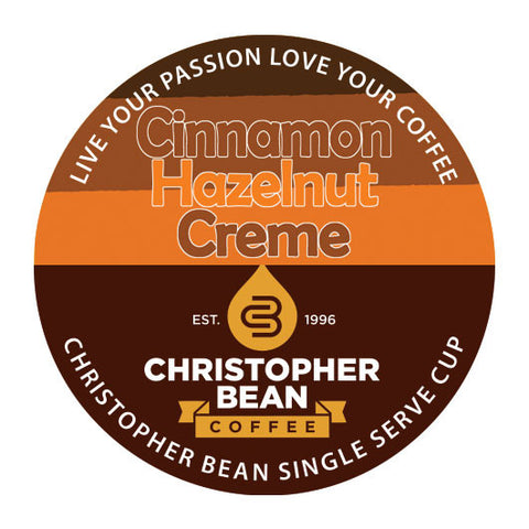 Cinnamon Hazelnut Creme Single Cup (New 18 Count)