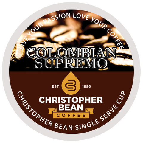 Colombian Single Cup - Handcrafted Artesian Specialty Gourmet And Flavored Coffee