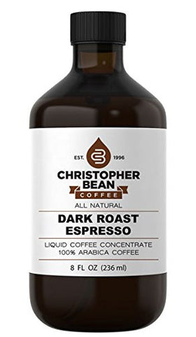 ESPRESSO DARK ROAST COLD BREW OR HOT LIQUID COFFEE CONCENTRATE - Handcrafted Artesian Specialty Gourmet And Flavored Coffee