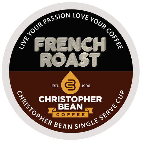 French Roast Single Cup - Handcrafted Artesian Specialty Gourmet And Flavored Coffee