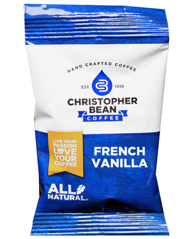 French Vanilla Case Fractional Portion Pack - Handcrafted Artesian Specialty Gourmet And Flavored Coffee