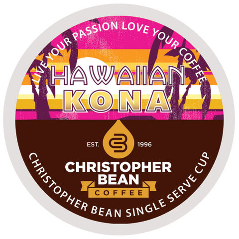 Hawaiian Kona Blend Single Cup - Handcrafted Artesian Specialty Gourmet And Flavored Coffee