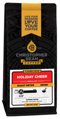 Christopher Bean Holiday Cheer Flavored Coffee, 12 Ounce Bag