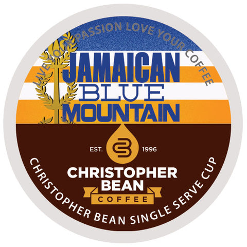 Vitamin Powered Coffee, Energy & Focus Jamaica Blue Mountain Blend Single Cup