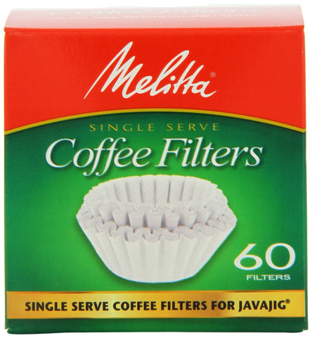 Melitta Java Jig Replacement Filters - Handcrafted Artesian Specialty Gourmet And Flavored Coffee