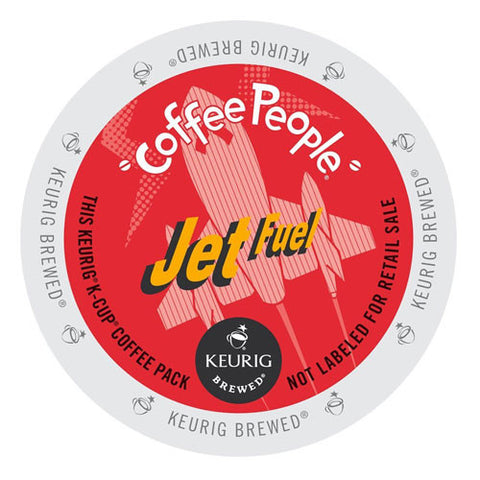 Coffee People Jet Fuel K-Cup® Coffee 24ct Dark - Handcrafted Artesian Specialty Gourmet And Flavored Coffee