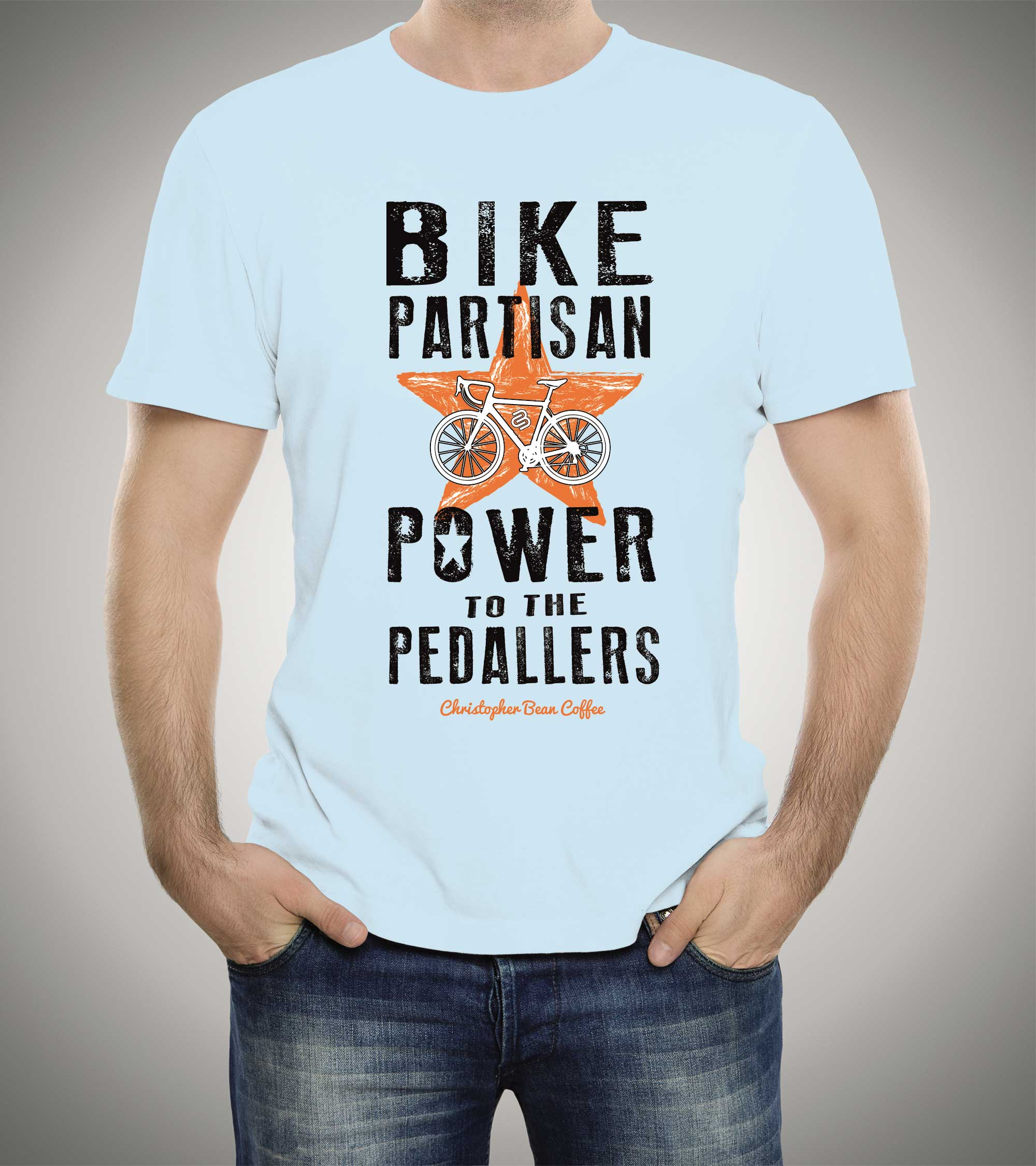 Men's Power To The Pedallers T Shirt