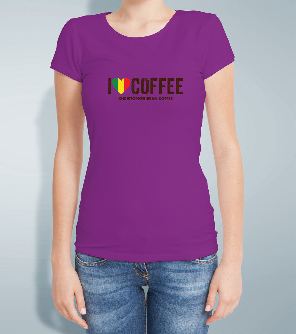 Ladies Rasta T Shirt