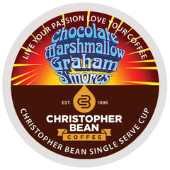 Chocolate Marshmalow Graham Smores Single Cup - Handcrafted Artesian Specialty Gourmet And Flavored Coffee