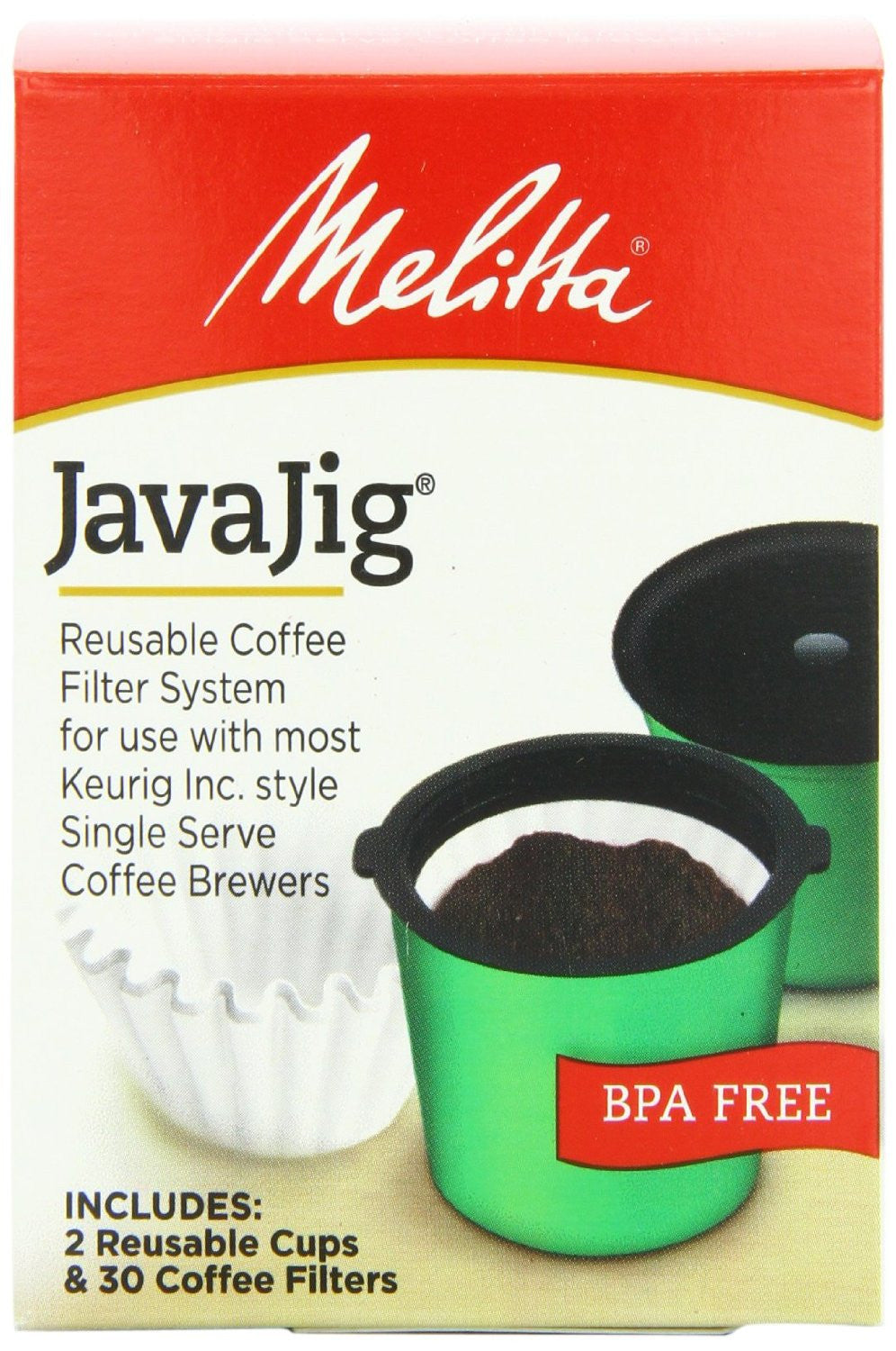 Melitta Java Jig - Handcrafted Artesian Specialty Gourmet And Flavored Coffee