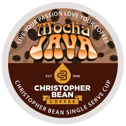 Mocha Java Single Cup (New 18 Count)