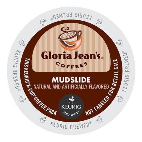 Gloria Jean's® Mudslide Coffee K-Cup® Pod - Handcrafted Artesian Specialty Gourmet And Flavored Coffee