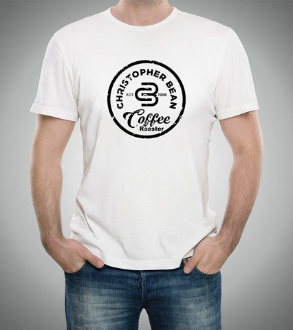 Mens Since 1996 Coffee Roaster Black Logo T Shirt