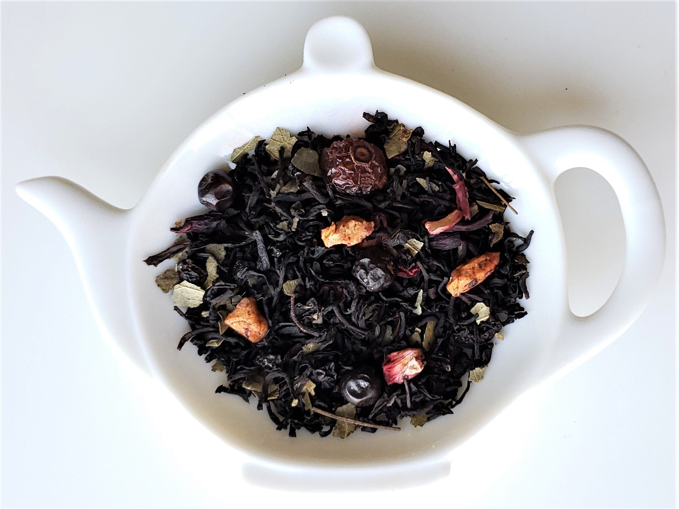 Snowberry Winter Blend Whole Loose Tea Leaves
