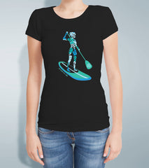 Ladies Aqua Sup T Shirt