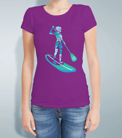 Ladies Aqua Sup Tank Top