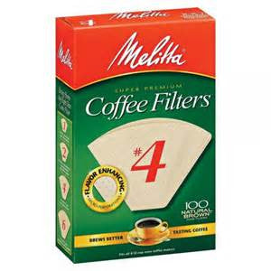 Melitta Coffee Filters Natural Brown Cone - Handcrafted Artesian Specialty Gourmet And Flavored Coffee