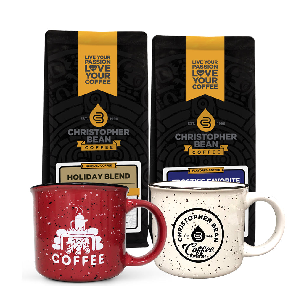 Coffee & Campfire Mug Gift Set 2 Bags 2 Mugs (Free Shipping)