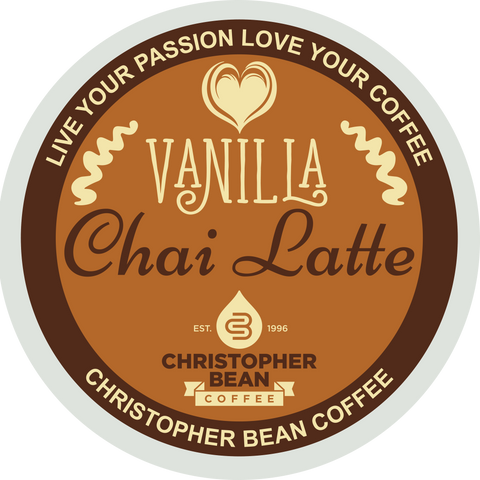 Vanilla Chai Latte Single Cup (18 Cups)