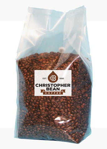 Espresso Decaffeinated Whole Bean 5 LB Bulk Bag - Handcrafted Artesian Specialty Gourmet And Flavored Coffee